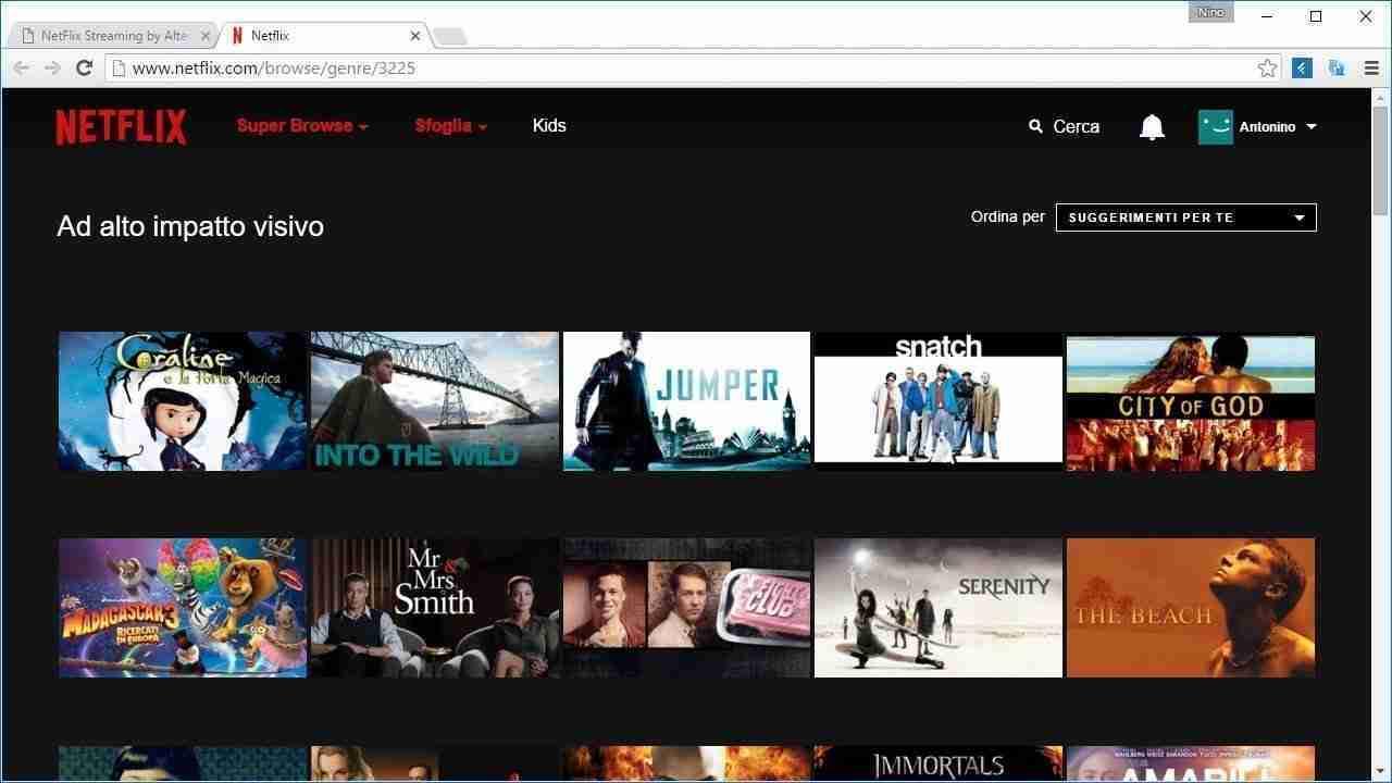 Netflix categorie segrete codici per accedervi