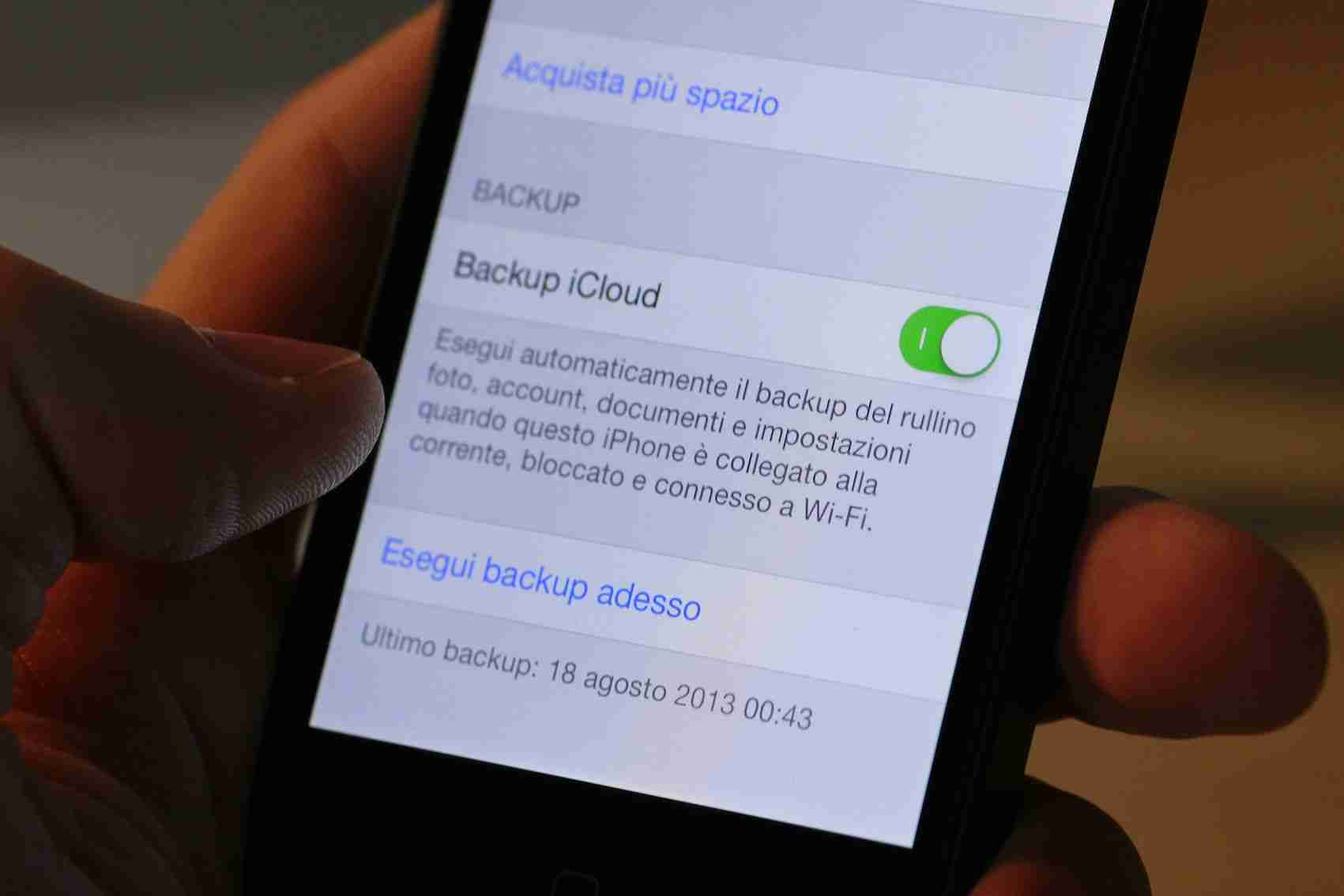 You are currently viewing Come fare il backup iphone iPad e iPod touch