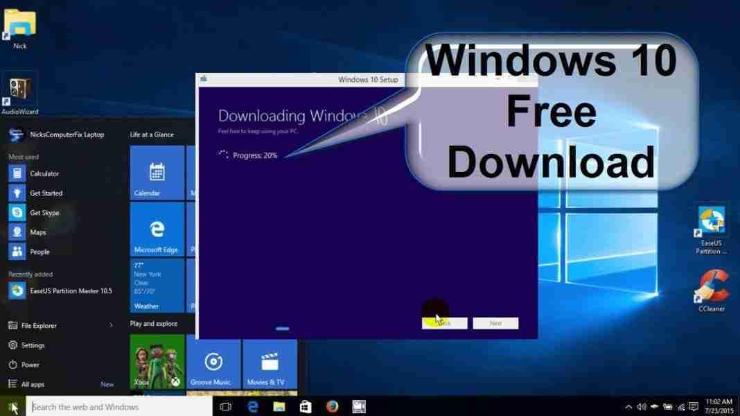 You are currently viewing windows 10 download creare USB o DVD da utilizzare per installazione