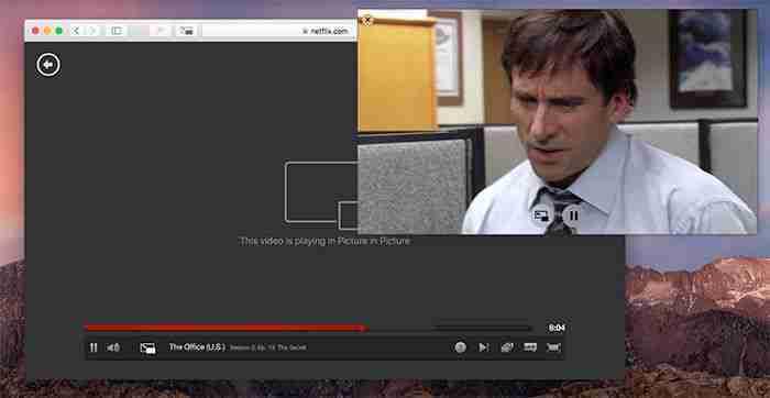 You are currently viewing Guardare Netflix mentre si lavora su Mac con la funzione Picture-in-Picture