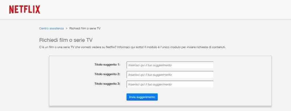 You are currently viewing Netflix come richiedere serie TV o Film per l'inserimento nel catalogo