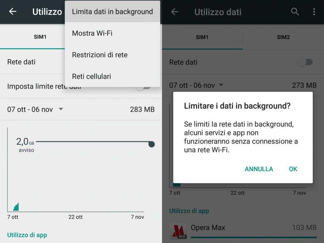 Ridurre traffico dati su Android ecco alcuni trucchi