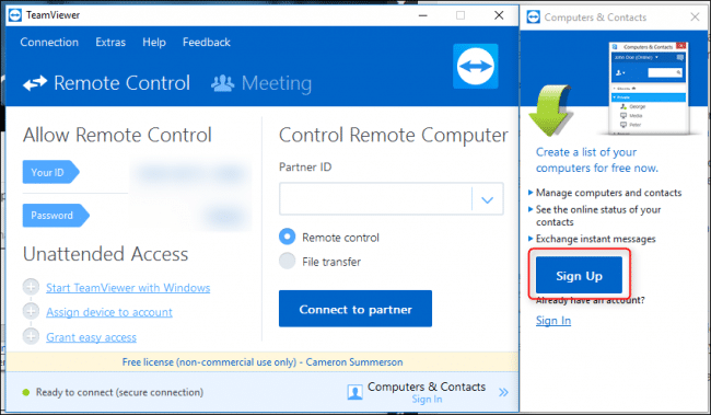 You are currently viewing Come correggere l'uso commerciale di TeamViewer rilevato in Windows 10