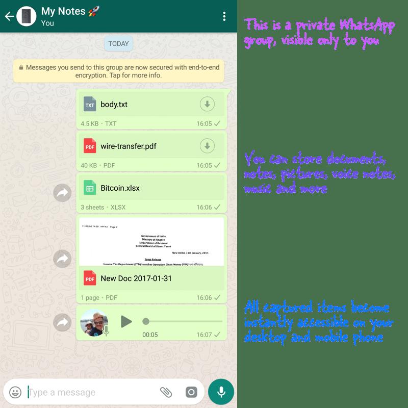 You are currently viewing WhatsApp come un archivio privato ecco come fare. Chat con se stessi