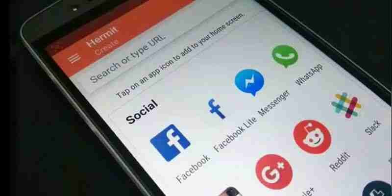 Come convertire i tuoi siti web preferiti in Applicazioni su Android