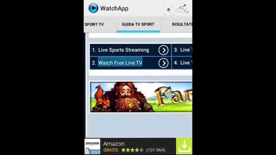 You are currently viewing WatchApp scarica e installa su Android e PC: guarda serie TV e calcio