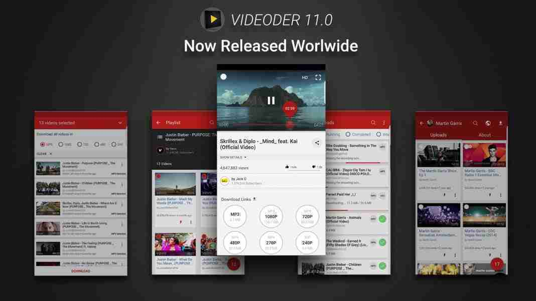 Videoder download apk