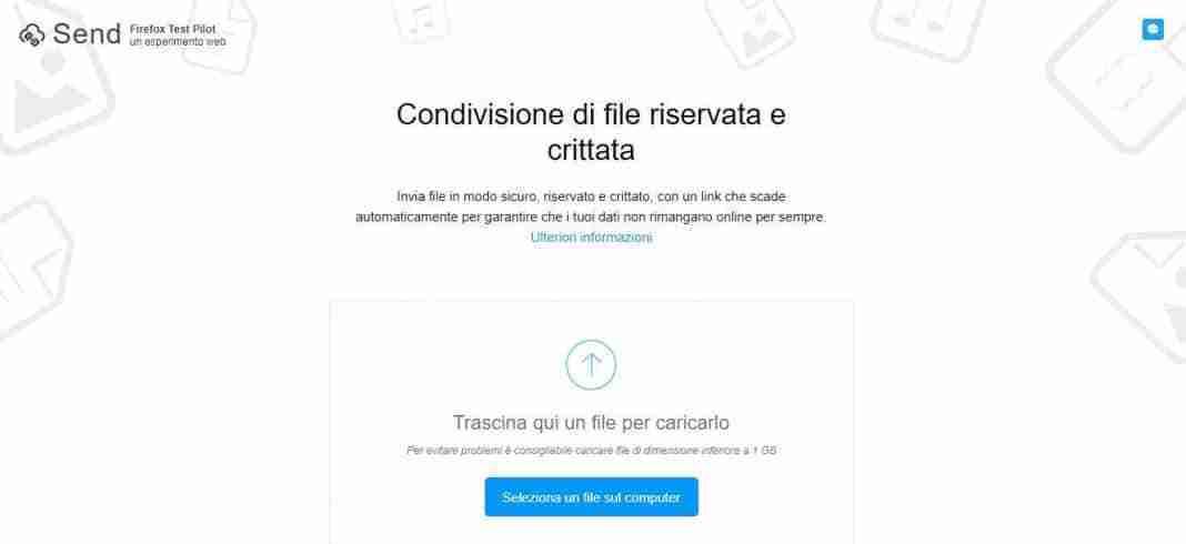 You are currently viewing Firefox Send invia file crittografati : cosa è e come funziona