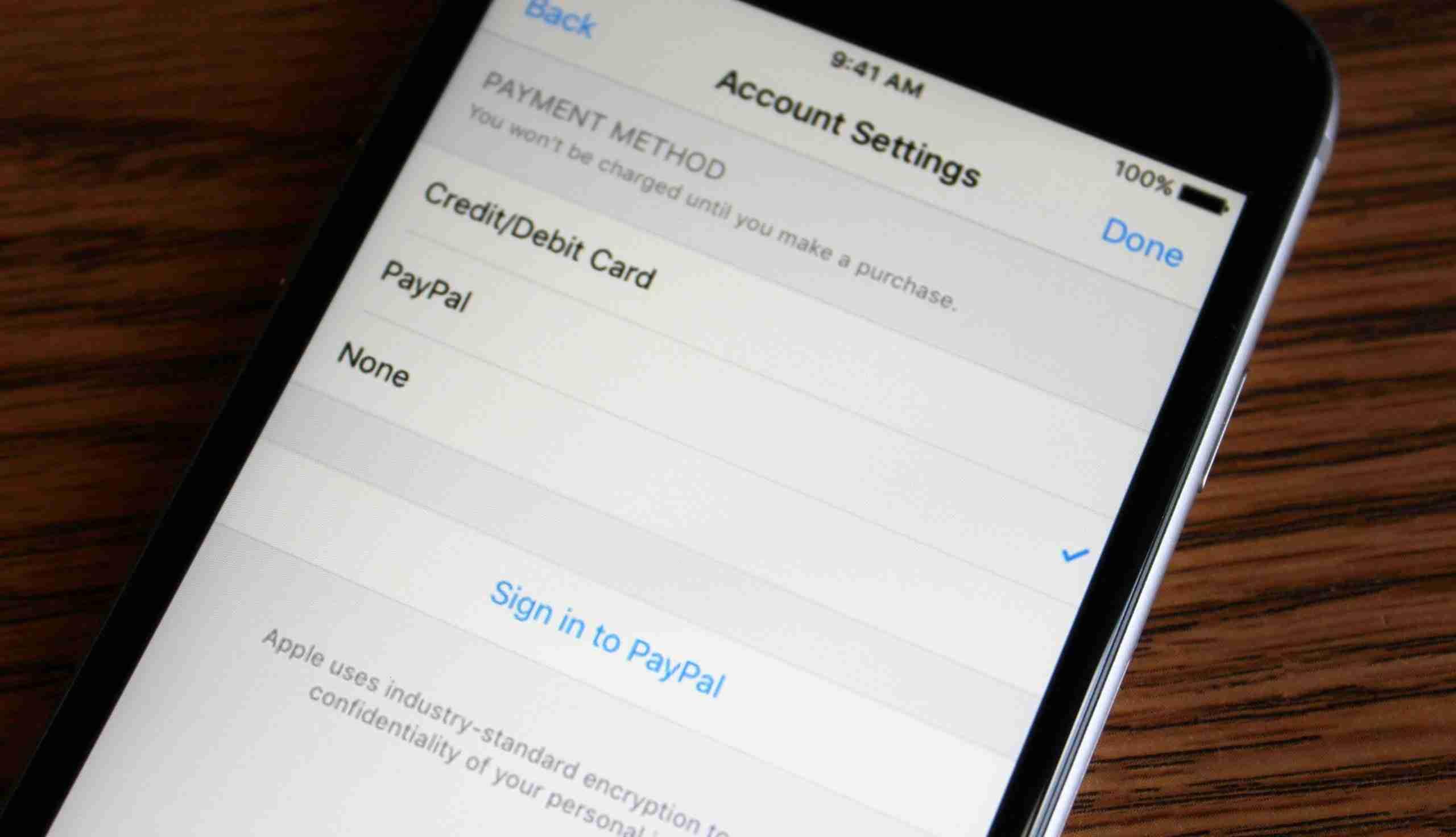 You are currently viewing Pagamenti con PayPal su App Store e iTunes : come attivare su iPhone e iPad