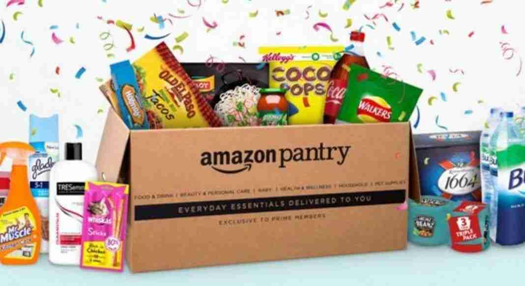 You are currently viewing Amazon Pantry la spesa direttamente a casa tua : come funziona