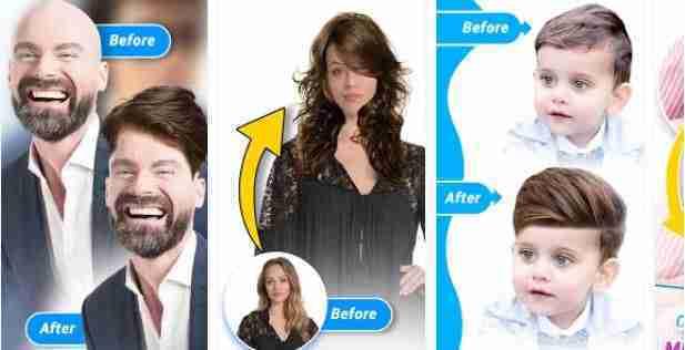 Di stile di capelli editor