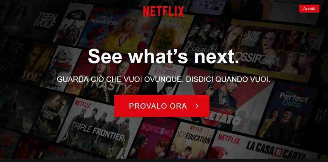 Come abbonarsi a Netflix da PC