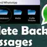 Eliminare backup di WhatsApp su Android