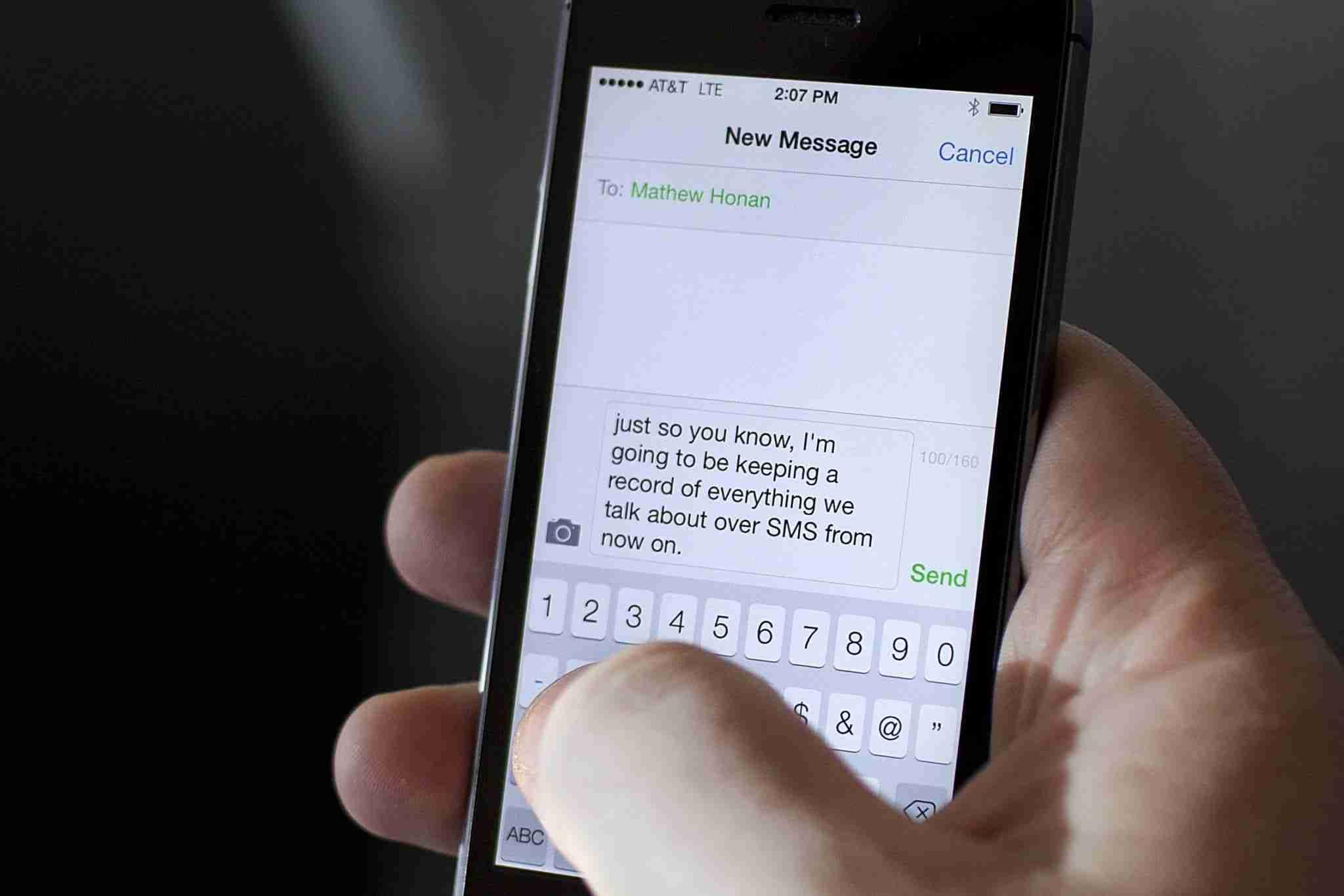 Come bloccare sms su un iPhone