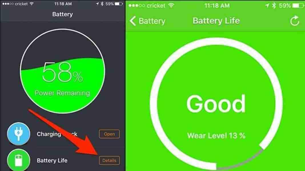 Come controllare la salute batteria iPhone