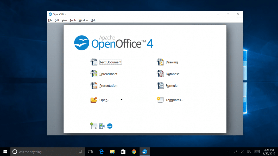 OpenOffice per Windows