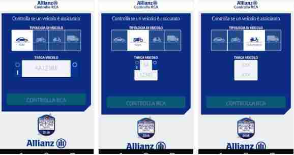 Allianz Controllo RCA