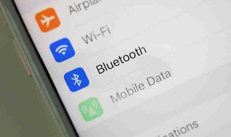 Bluetooth su iPhone e iPad