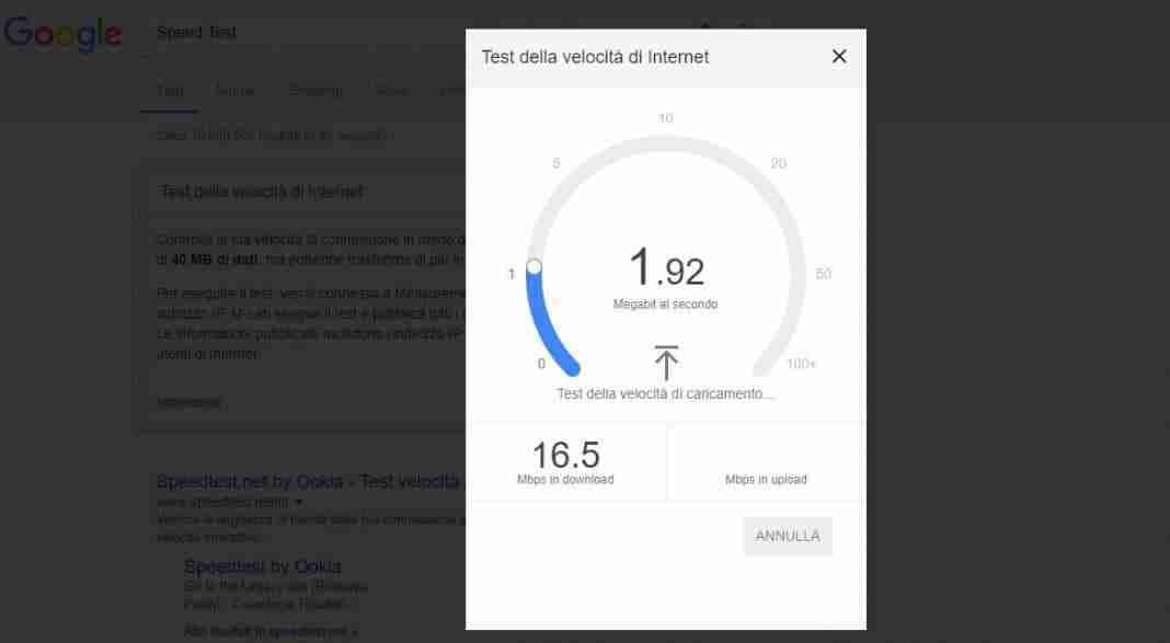 speed test google