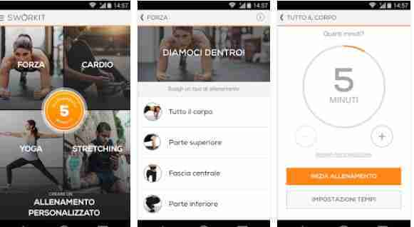 Sworkit: Personal Trainer