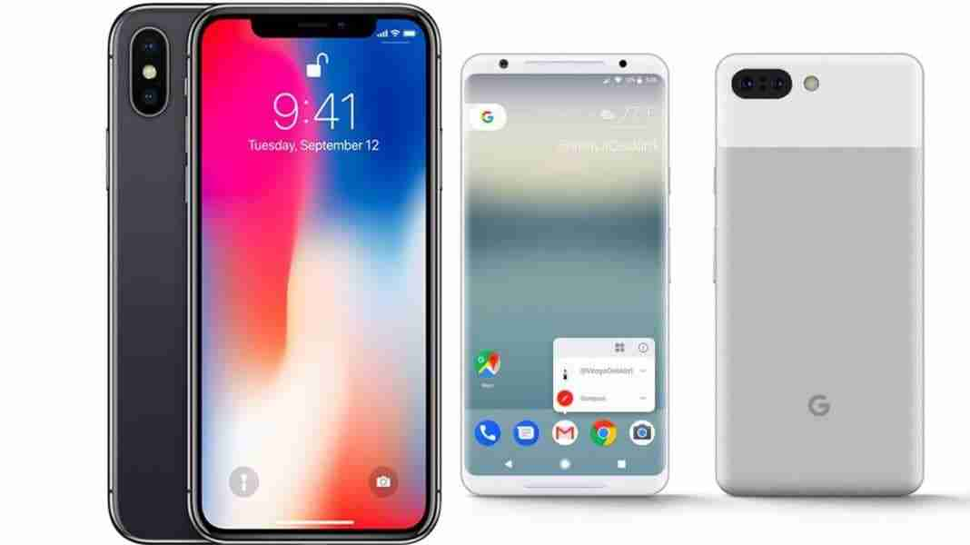 You are currently viewing IPHONE X contro PIXEL 2 XL: confronto tra lo smartphone Apple e Google