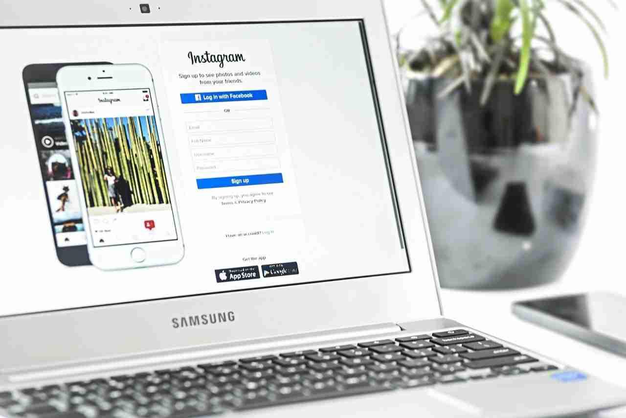 modificare password Instagram