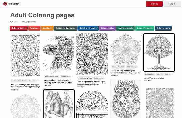 I migliori siti di immagini da colorare gratuiti per - Pagine da colorare pesci per adulti ...