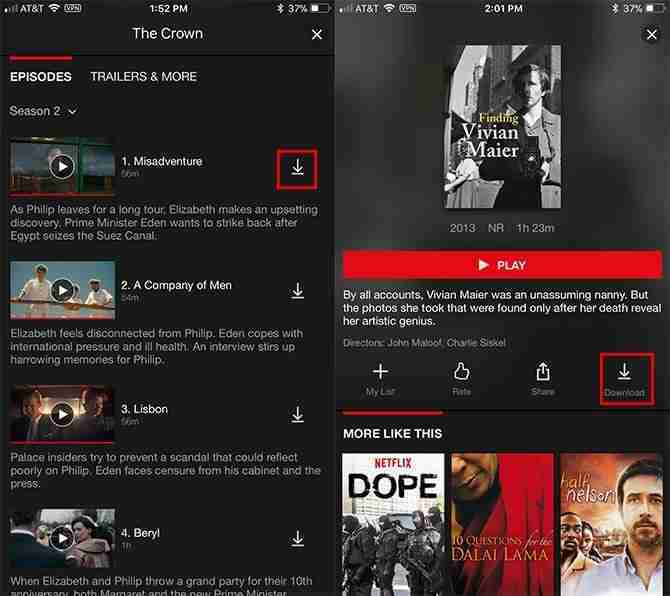 download film from netflix on computer