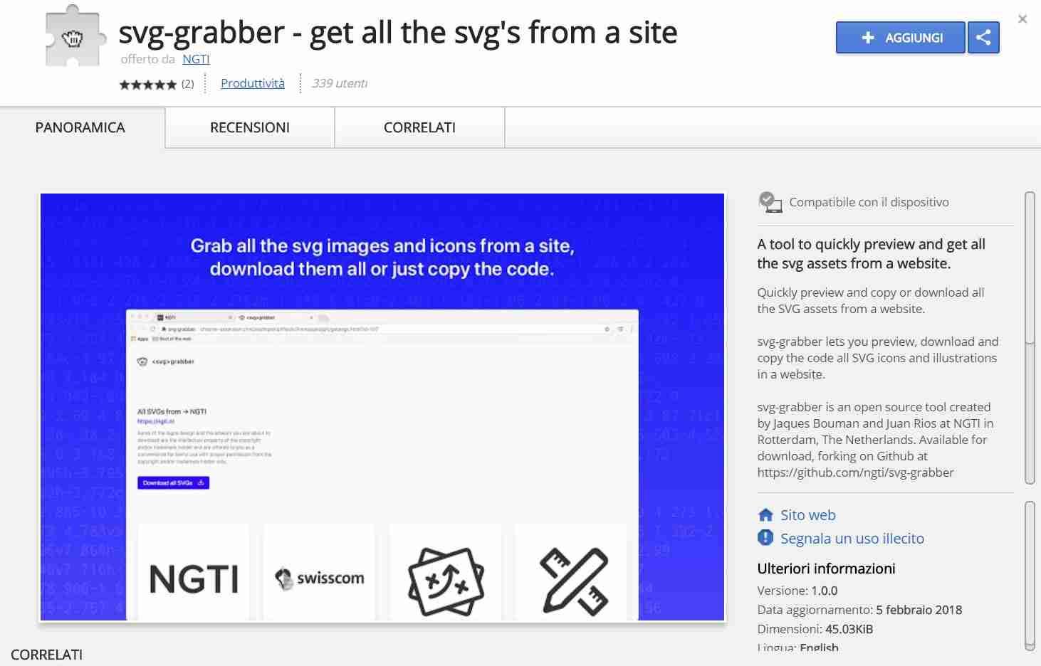 You are currently viewing Come scaricare tutti gli SVG da qualsiasi pagina Web in Chrome