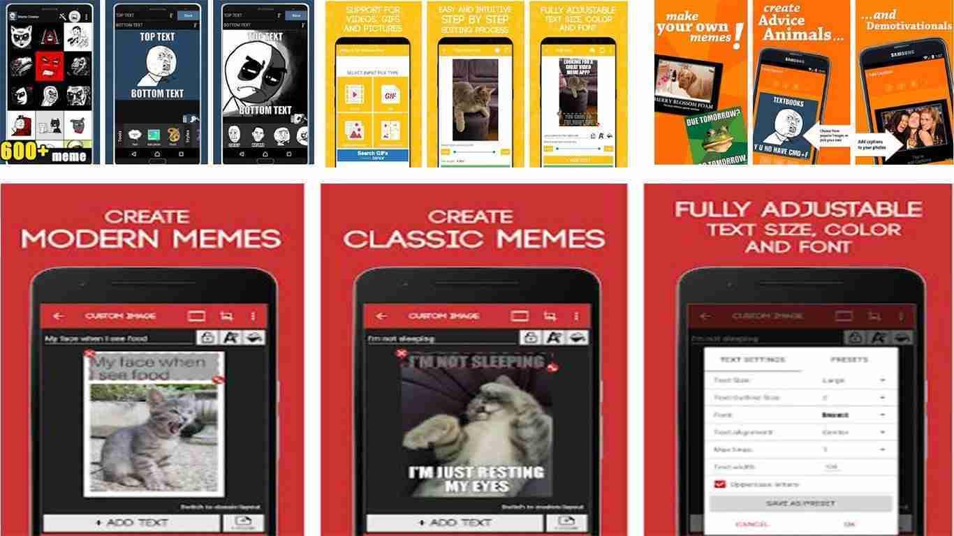Le migliori app per creare meme su Android