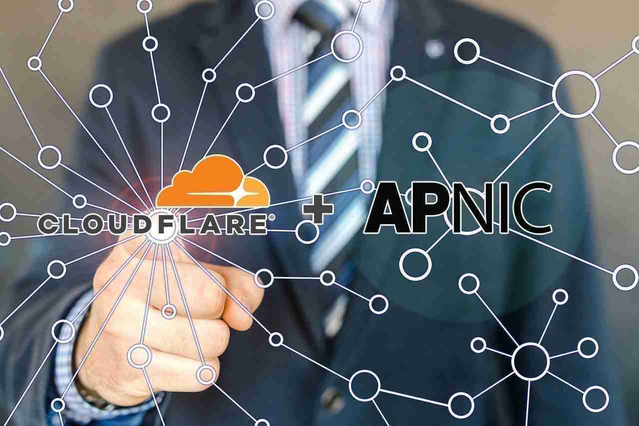 Cloudflare e APNIC DNS1.1.1.1