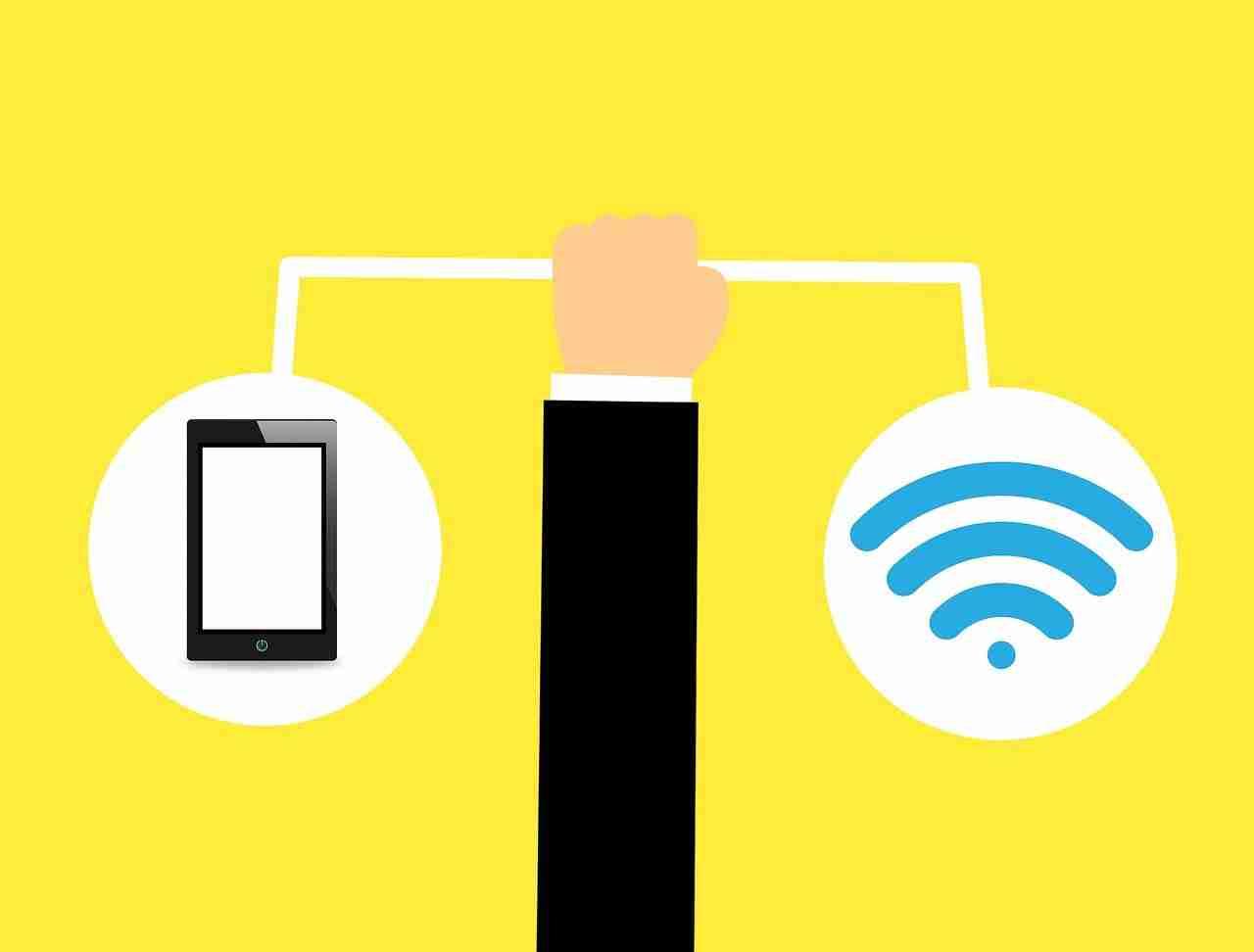 Togliere una connessione automatica wifi