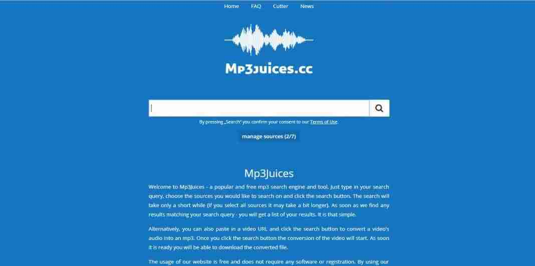 Mp3Juices scarica e converti video in mp3