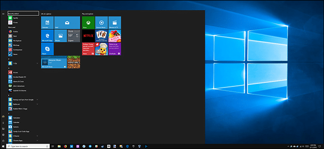 Come ingrandire o rimpicciolire il menù Start su Windows 10
