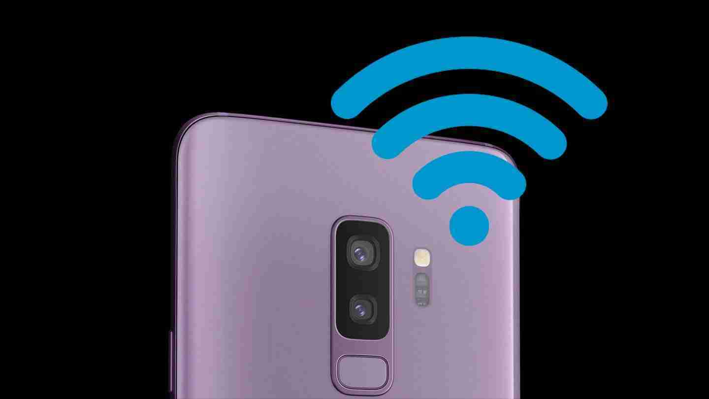 Samsung S9 come Extender Wi-Fi