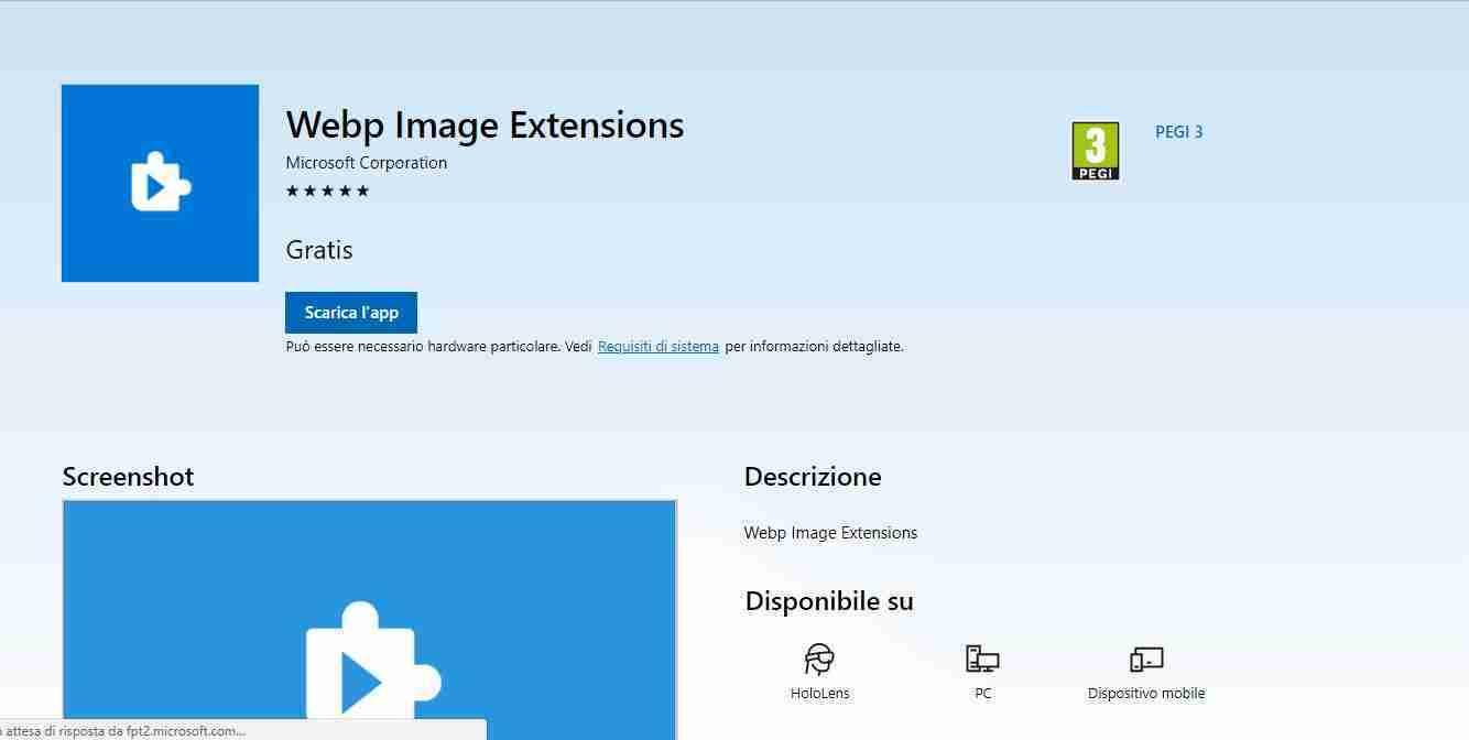 Come abilitare il supporto per immagini Webp in Edge su Windows 10