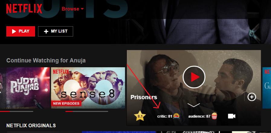 You are currently viewing Come ottenere le valutazioni di IMDb nell'app Netflix su Android