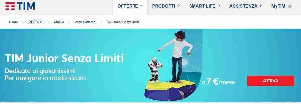 TIM Junior Senza Limiti