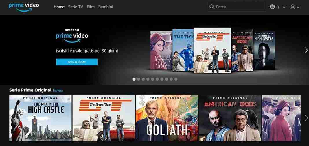 Amazon Prime Video - film senza limiti