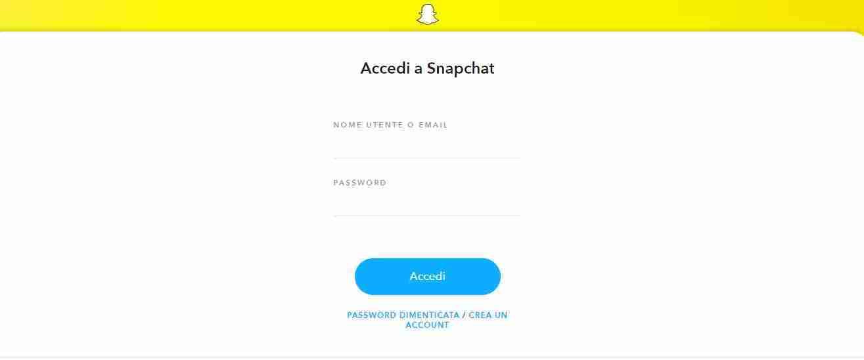 Come recuperare la password di Snapchat dimenticata
