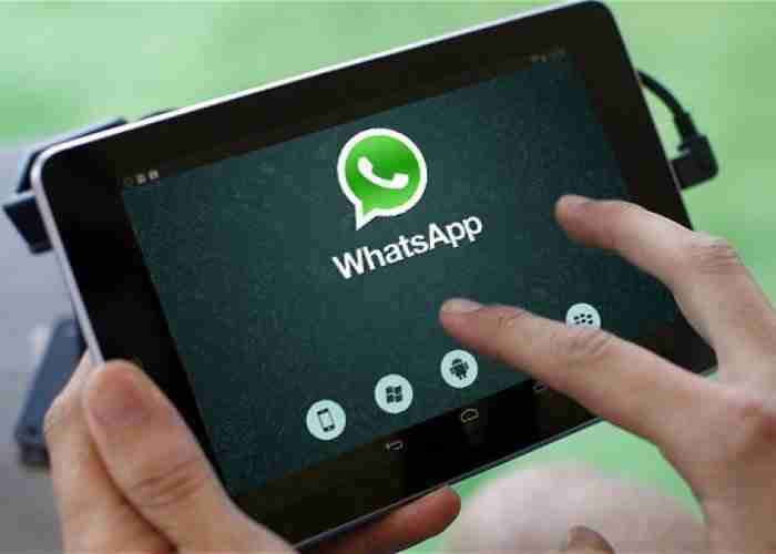 Come utilizzare WhatsApp Web dal tablet