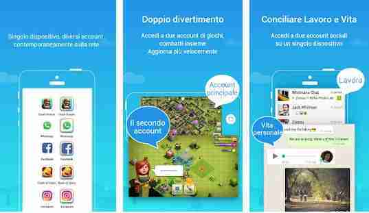 Cos'è Parallel Space per Android