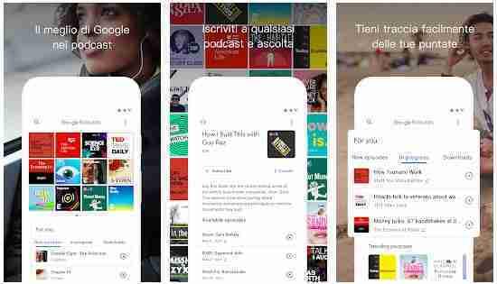 Google Podcasts come funziona