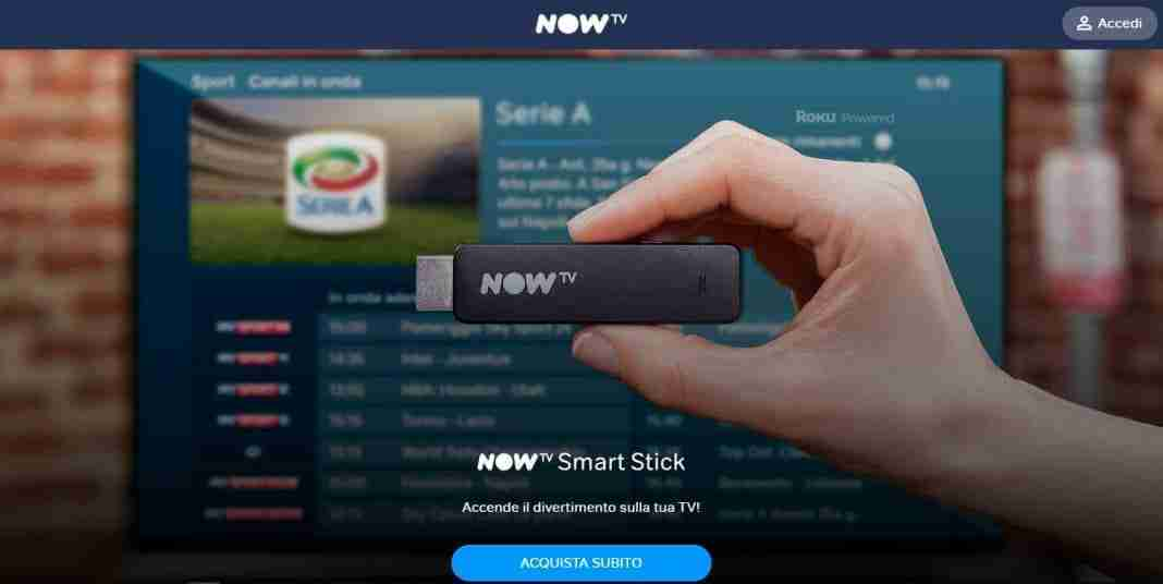 Skyonline con NOW TV Smart Stick