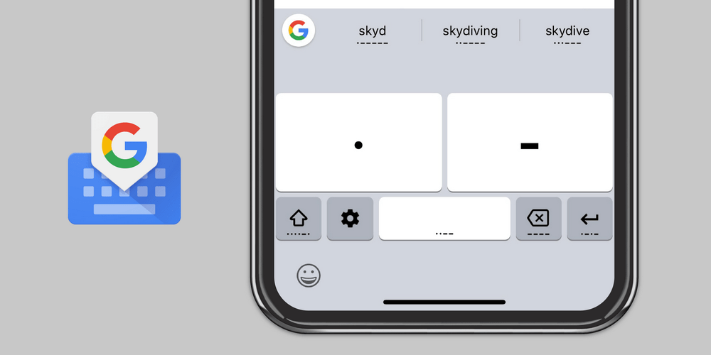 You are currently viewing È ora possibile utilizzare il codice Morse su Google Gboard