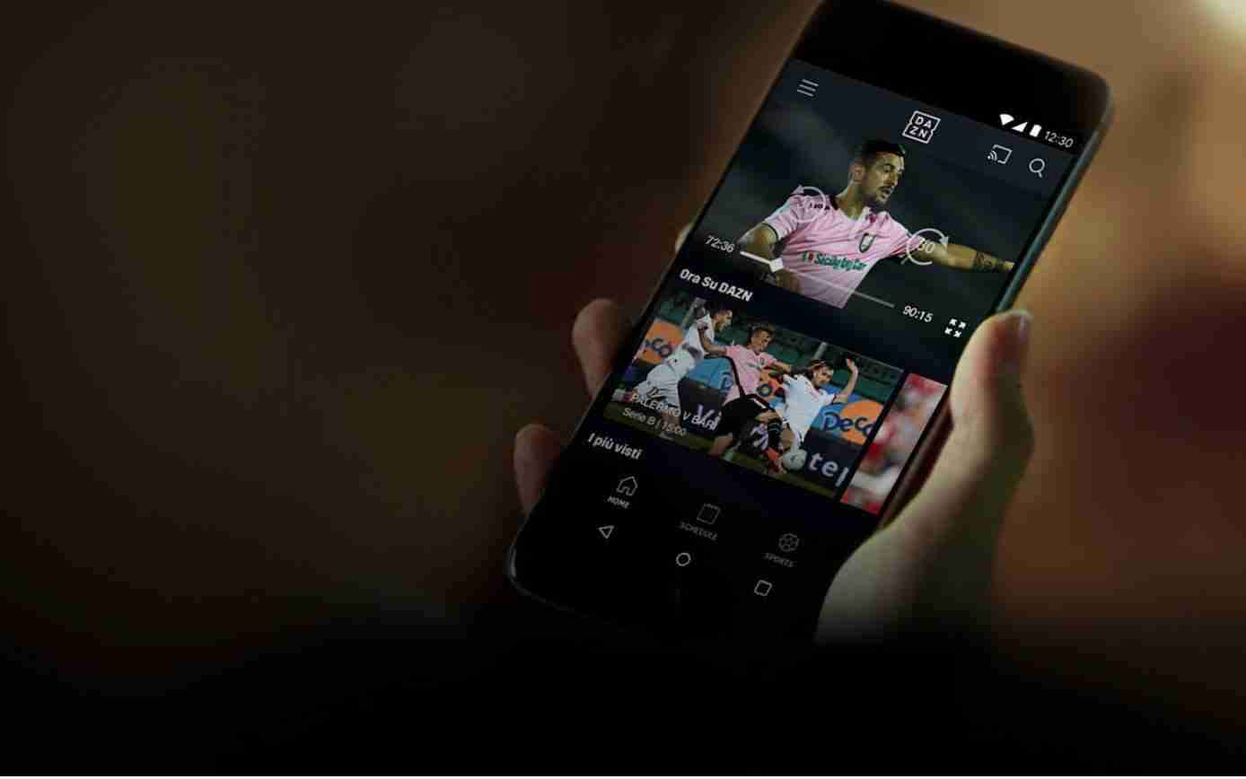 Come guardare DAZN su iPhone e iPad