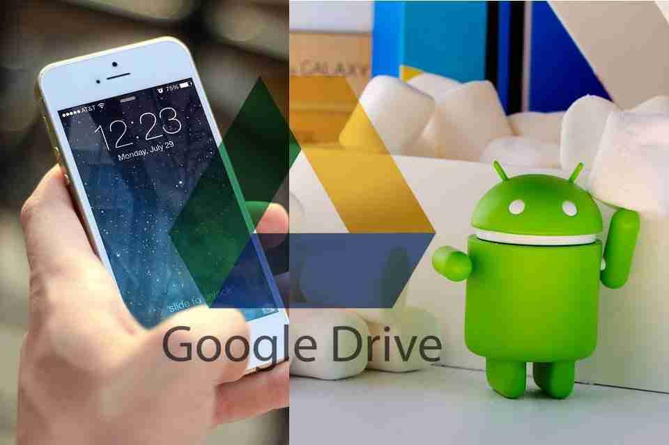 Come trasferire tutti i dati da iPhone ad Android con Google Drive