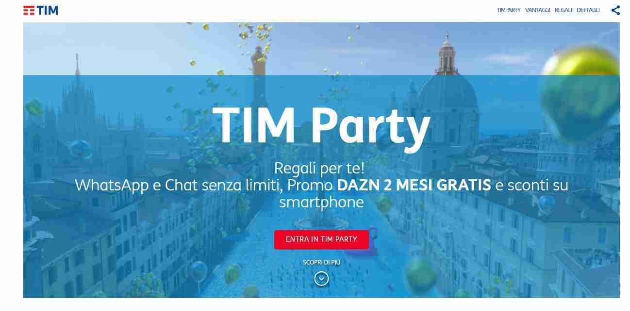 TIM Party cos'è e come funziona