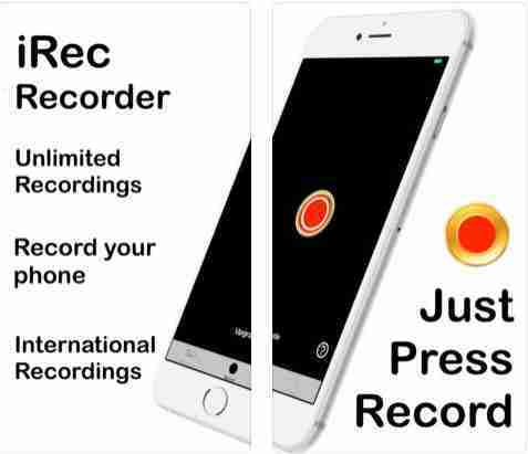 iRec Call Recorder for iPhone