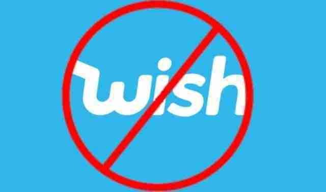 Come cancellarsi da Wish